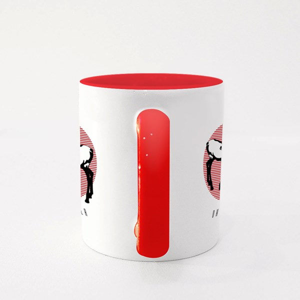 Oh My Deer Creative Tattoo Artwork Colour Mugs