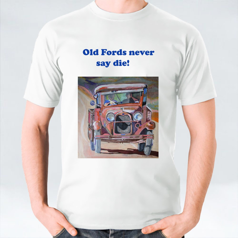 Old Ford Pickup. T-Shirts
