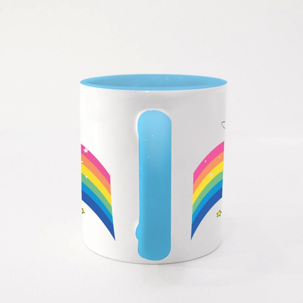 Cute Rabbit Unicorn Colour Mugs