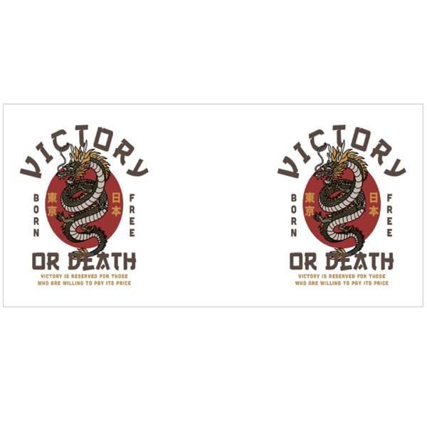 Victory or Death Dragon Colour Mugs