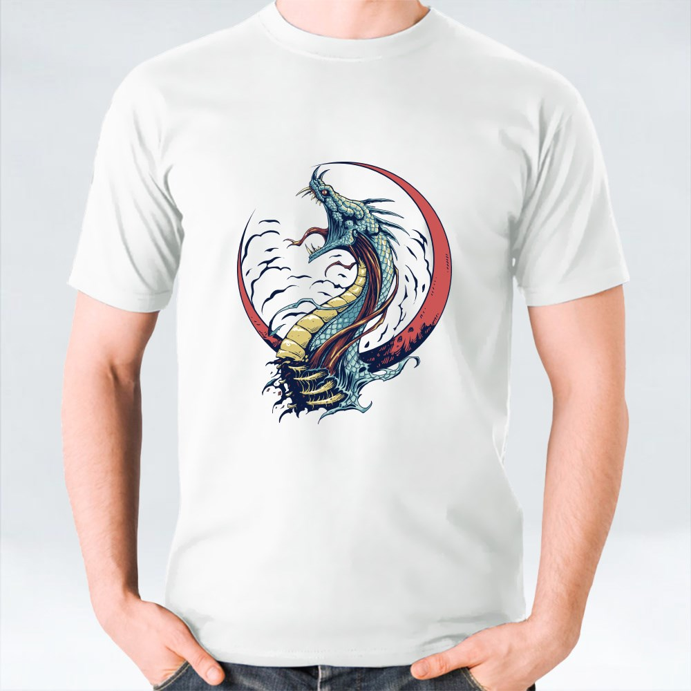 The Dragon And The Moon T-Shirts