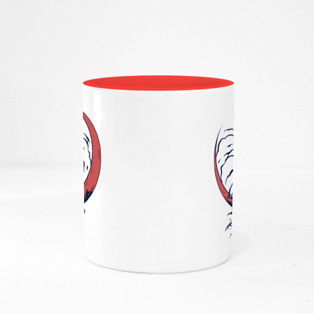 The Dragon And The Moon Colour Mugs