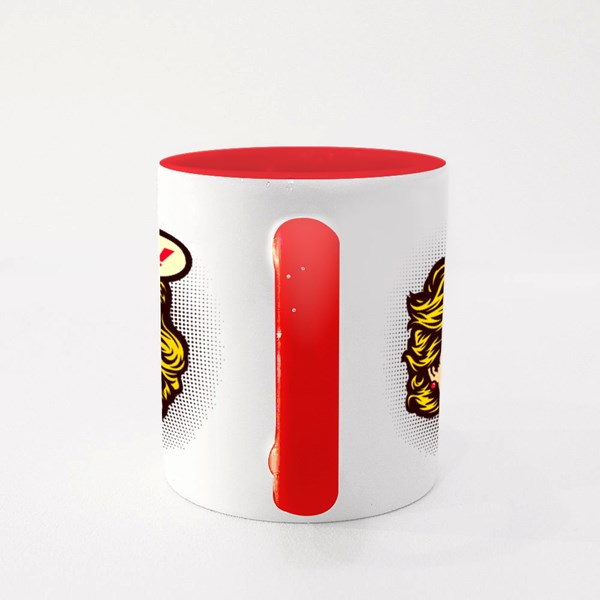 Pop Art Comic Book Style, Oh No! Colour Mugs
