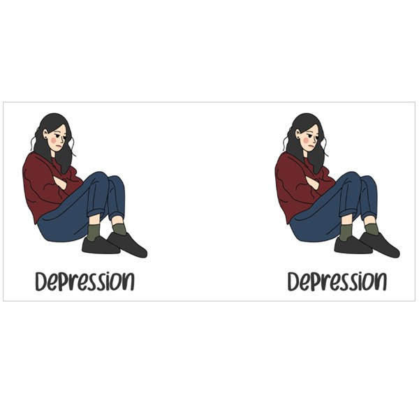 Depression Awareness Colour Mugs