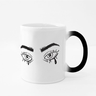 Eyes With Smudged Mascara Magic Mugs