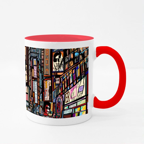 New York City Street Colour Mugs