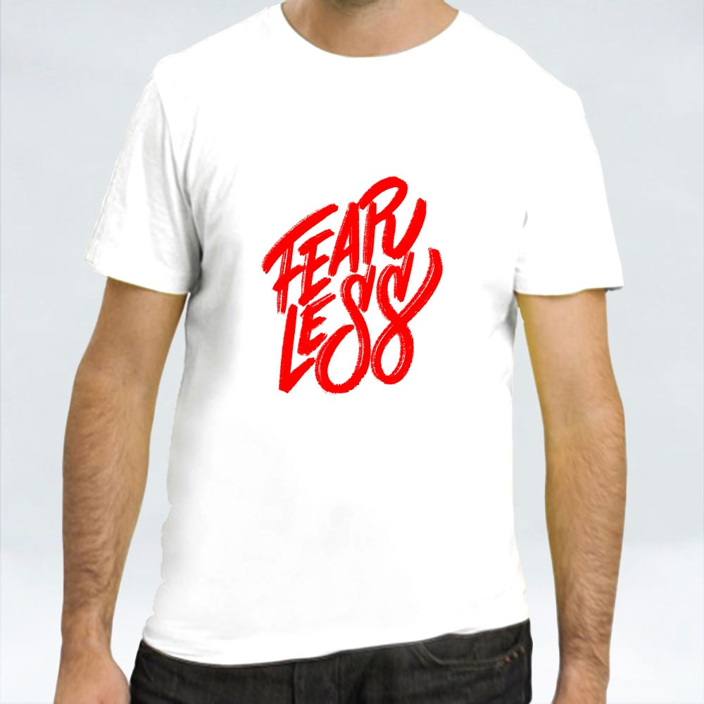 Fearless Hand Lettering T-Shirts
