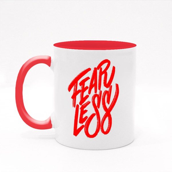 Fearless Hand Lettering Colour Mugs