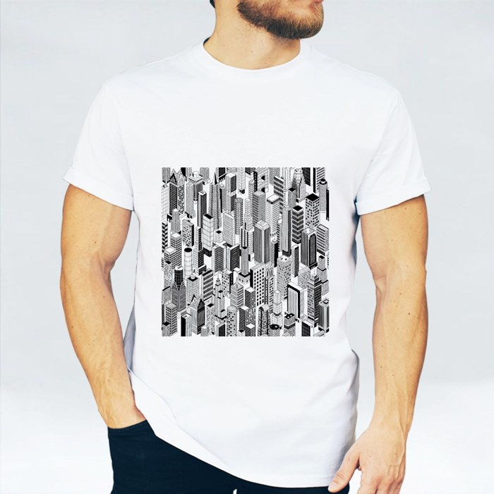Skyscraper City of Different High-Rise Buildings T-Shirts