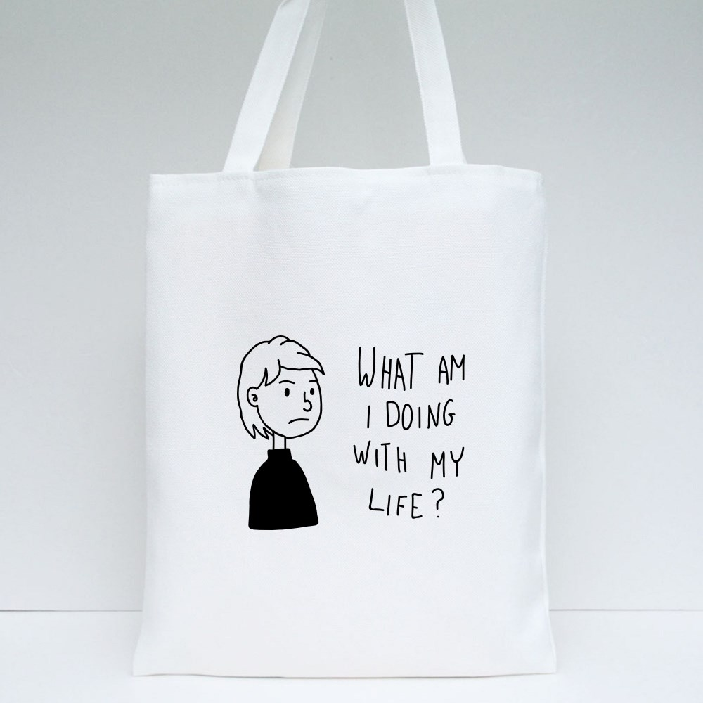 What Am I Doing With My Life? Tote Bags