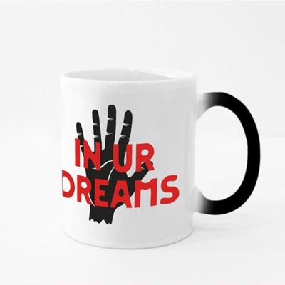 In Ur (Your) Dreams With Stop Hand Magic Mugs