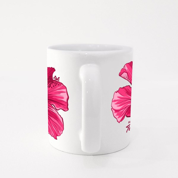 Hawaiian Hibiscus Fragrance Flower Colour Mugs