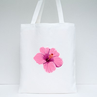 Hibiscus Flower Tote Bags