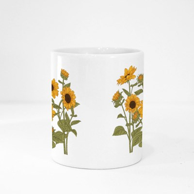 Sketch Floral Botany Collection Magic Mugs