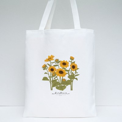 Sketch Floral Botany Collection Tote Bags