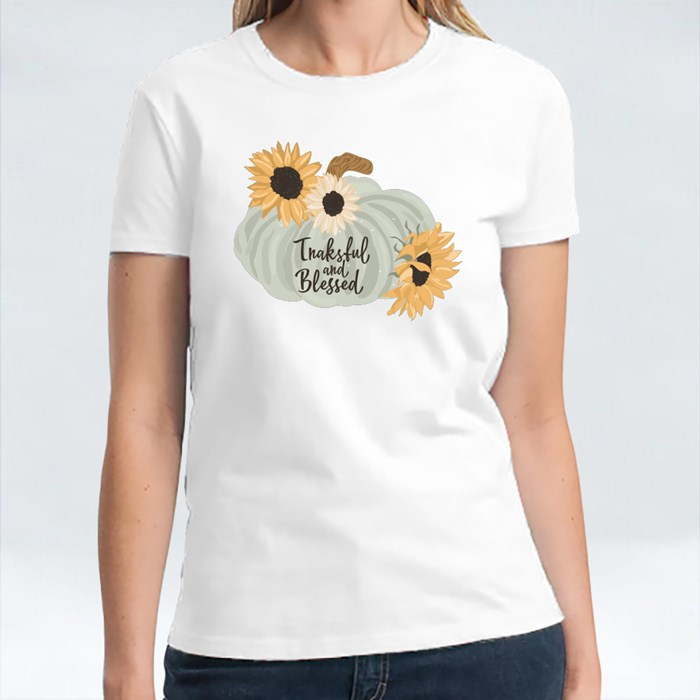 Sunflower and Pumpkin T-Shirts