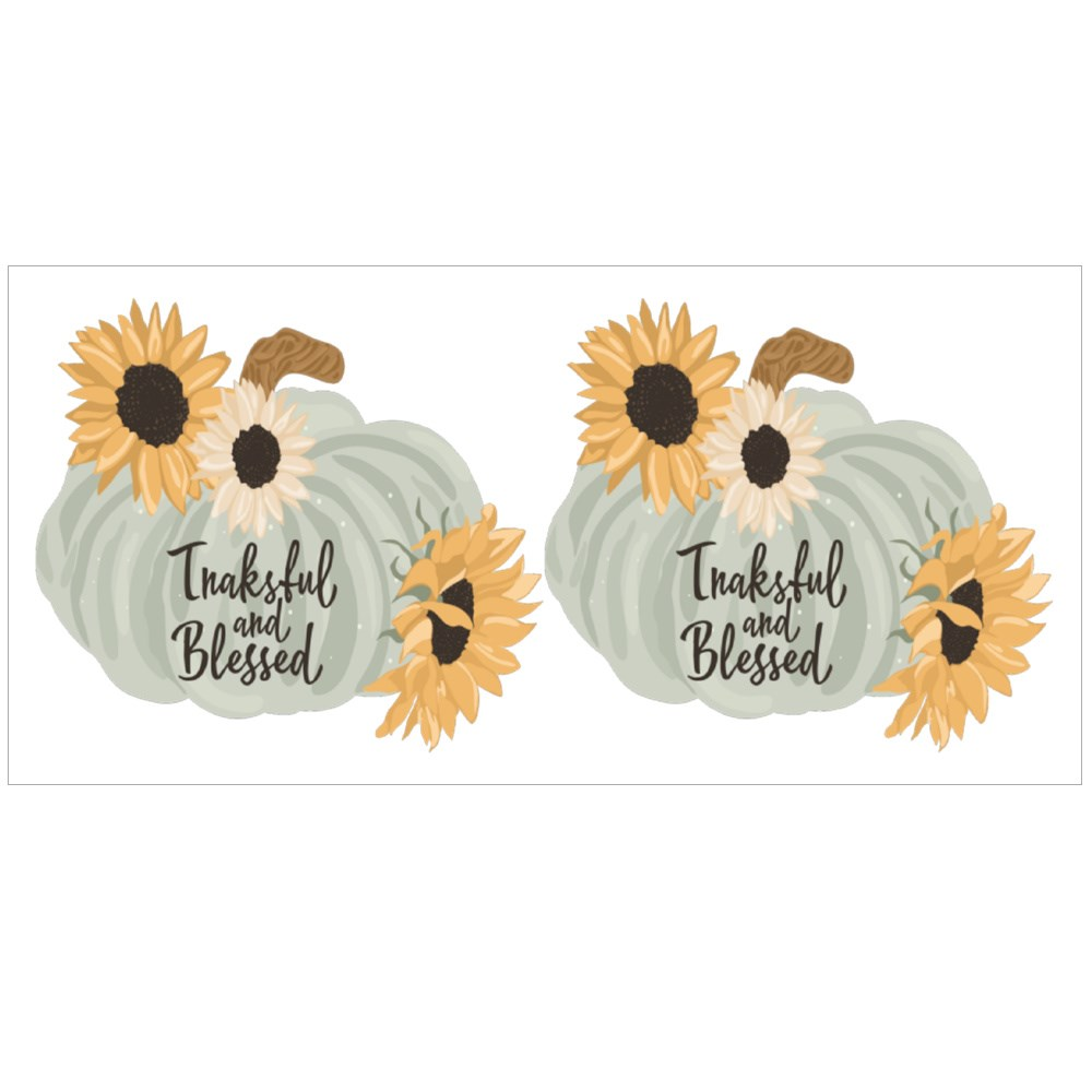 Sunflower and Pumpkin Magic Mugs