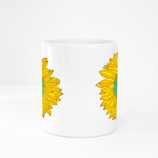 Sunflower Colour Mugs