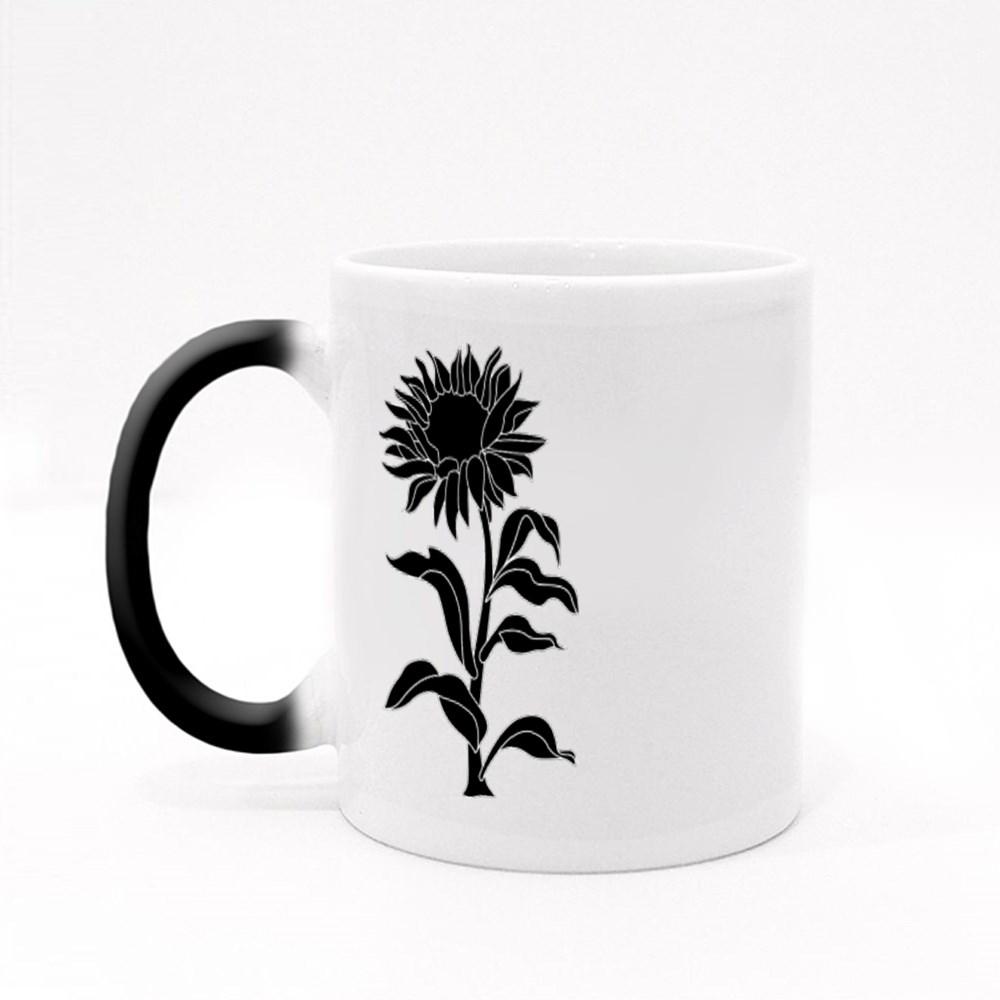 Sunflower and  Plant Magic Mugs