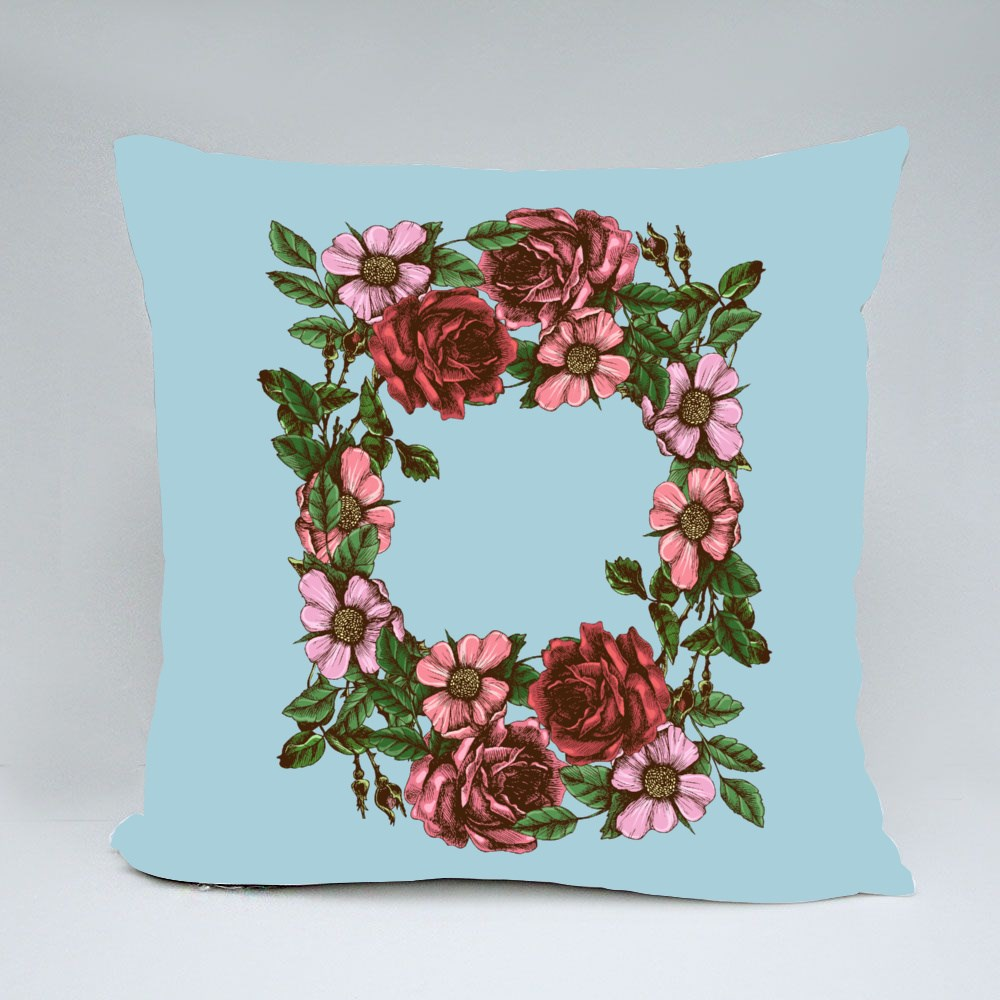 Wreath of Roses and Wild Rose Bantal