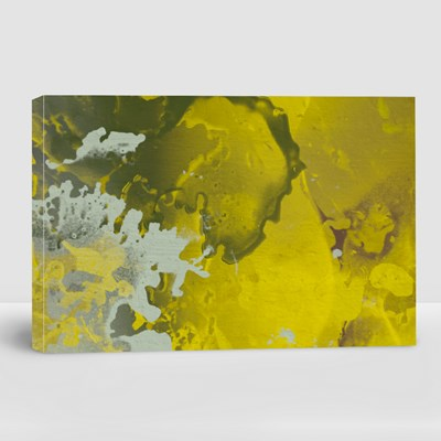 Abstract Painting Backdrop on Concrete Wall 帆布畫(橫向)