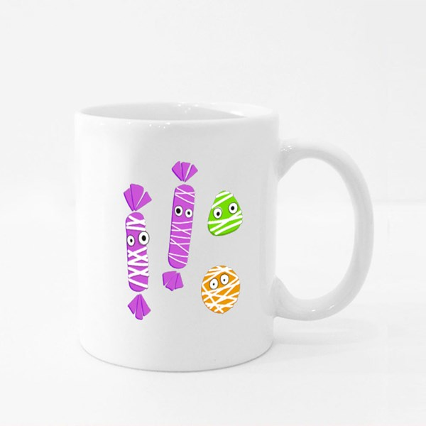 Halloween Candy Collection Colour Mugs
