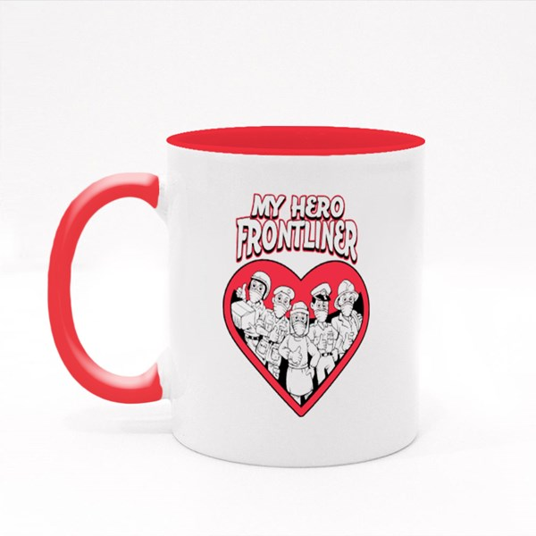 The Hero Frontliner Colour Mugs