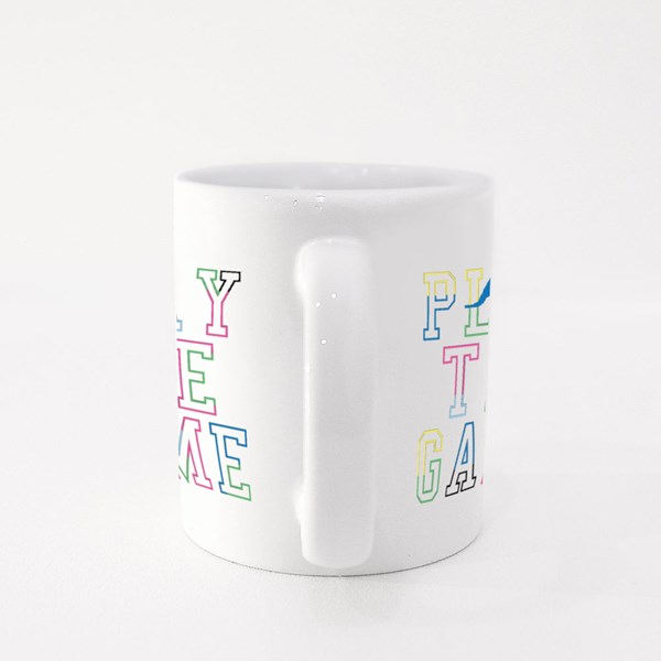 Play the Game Colour Mugs