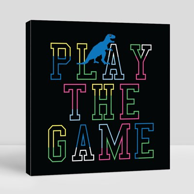 Play the Game Canvas (Square)