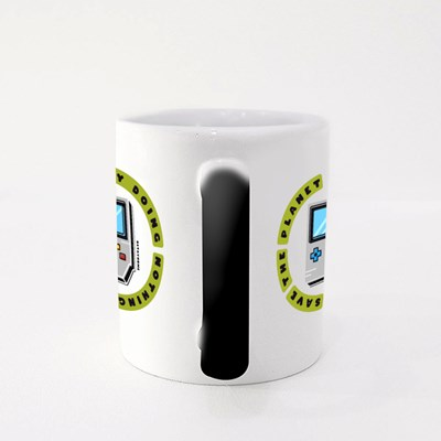 Save the Planet by Doing Nothing Magic Mugs