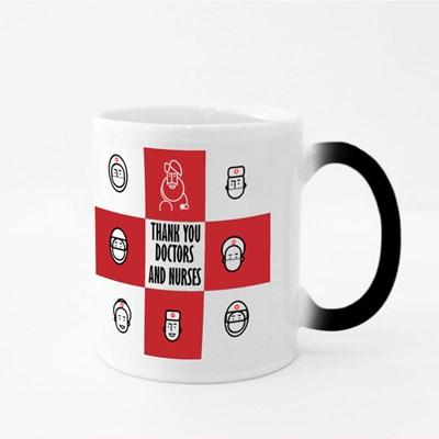 Thank You to the Doctors and Nurses Magic Mugs