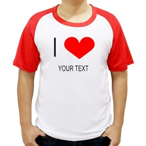I Heart Your Text Customisable Shirt