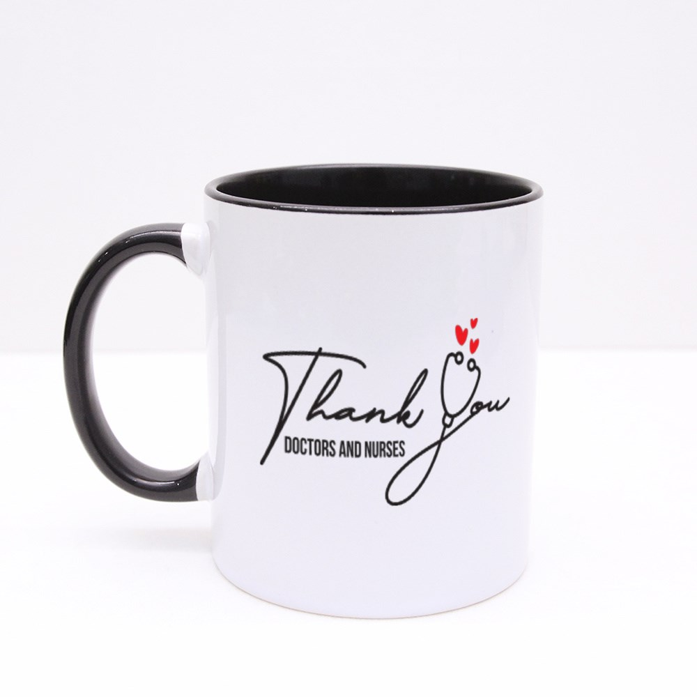 Thank You, Healthcare Heroes Colour Mugs
