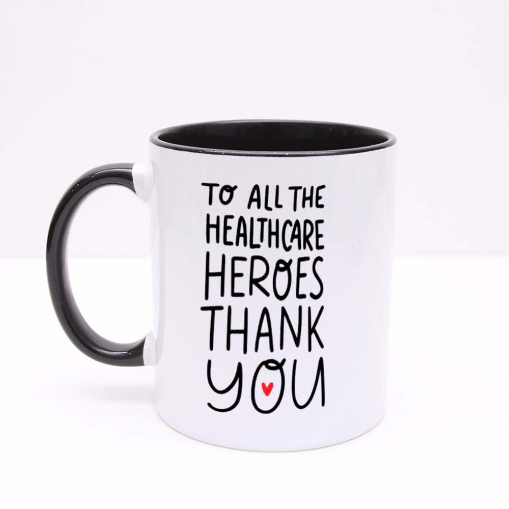 Thank You to All the Healthcare Heroes Colour Mugs