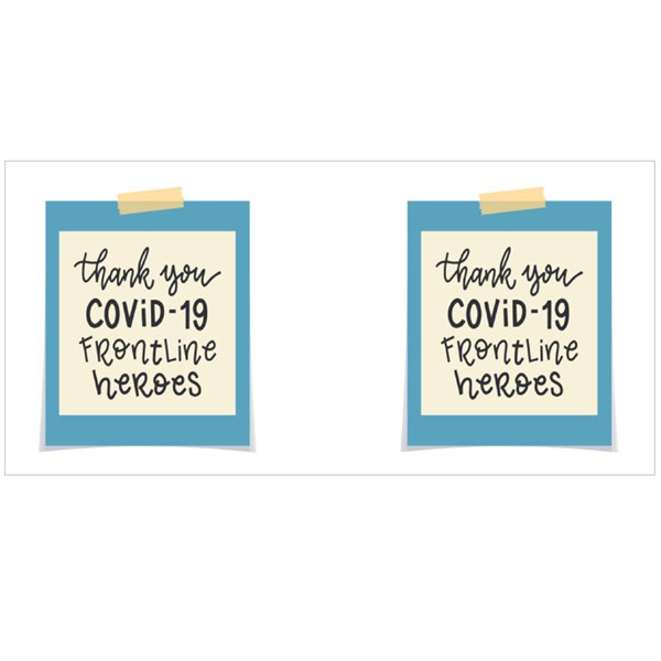 Thank You Covid-19 Frontline Heroes Colour Mugs