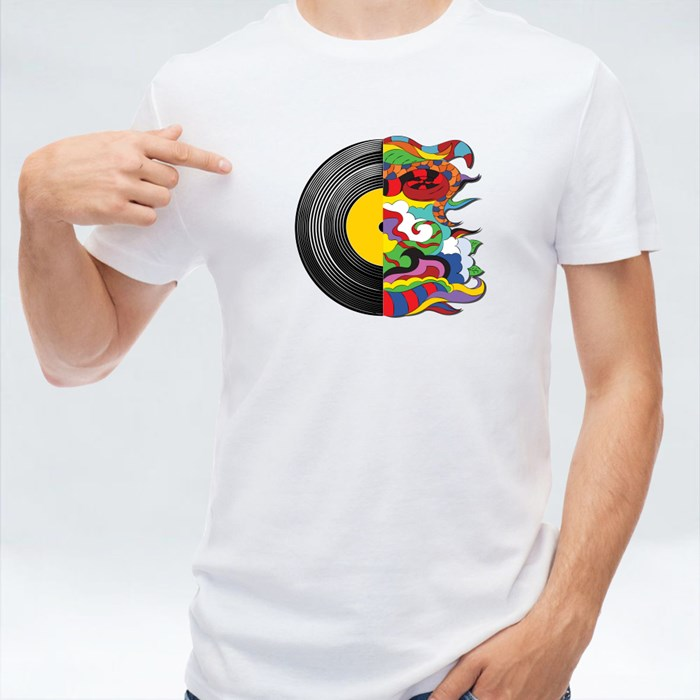 Soul in Music, Vinyl Record T-Shirts