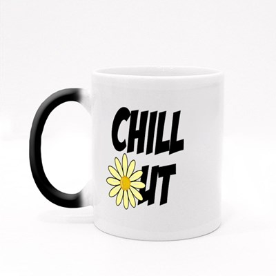 Chill Out Daisy Flower Daisy Flower Magic Mugs