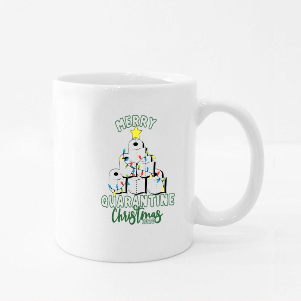Merry Quarantine Christmas 2020 Colour Mugs