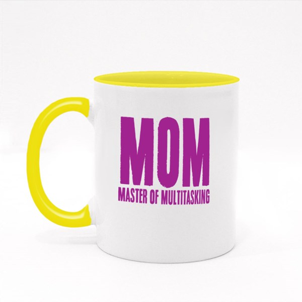 Mom Master of Multitasking Colour Mugs