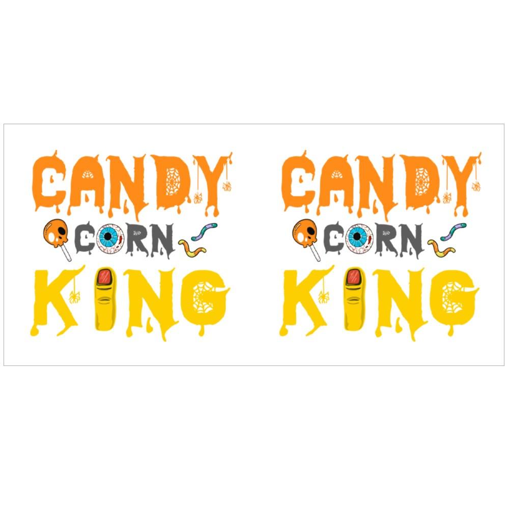 Candy Corn King Halloween Tshirt Colour Mugs