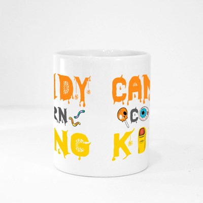 Candy Corn King Halloween Tshirt Magic Mugs