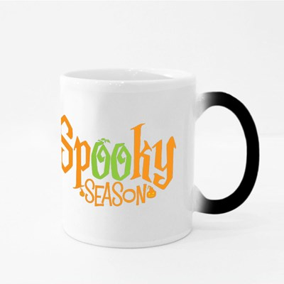 Spooky Season Typography Halloween. Magic Mugs