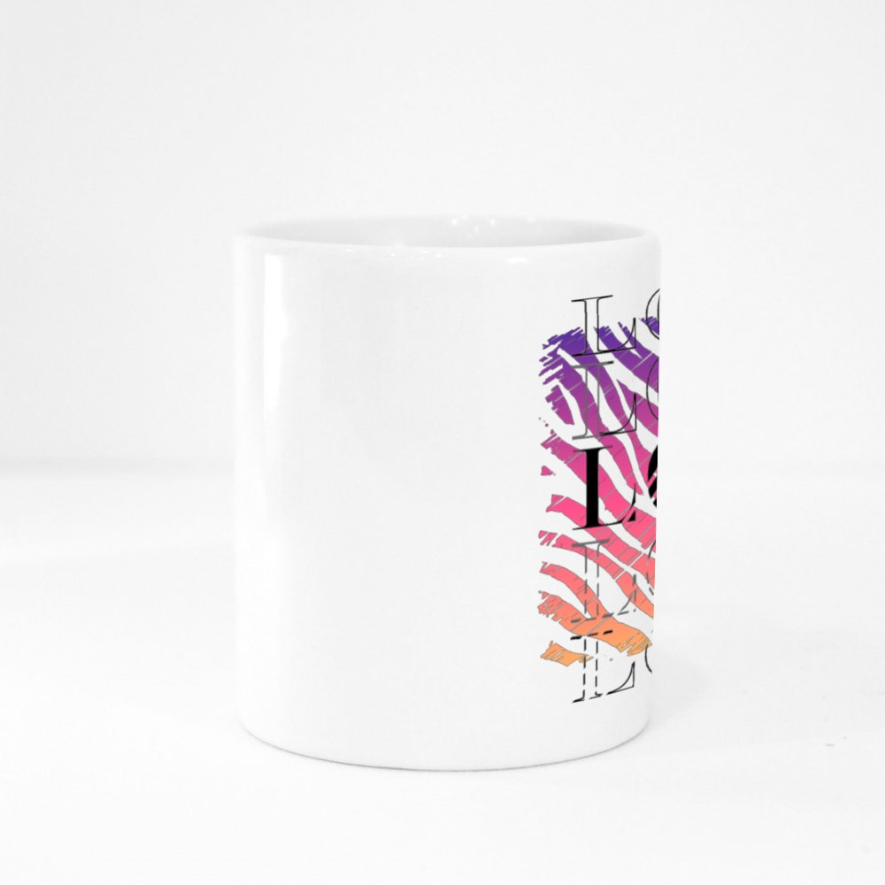 Slogan Graphic With Colorful Animal Skin for Tshirt Colour Mugs