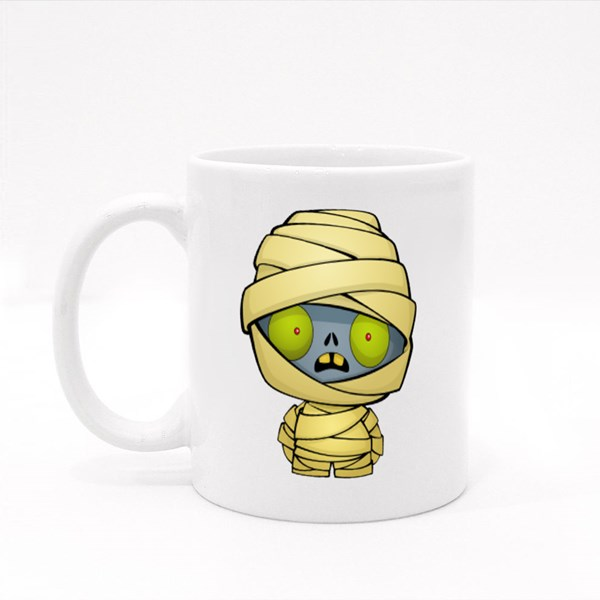 Halloween Cute Mummy Colour Mugs
