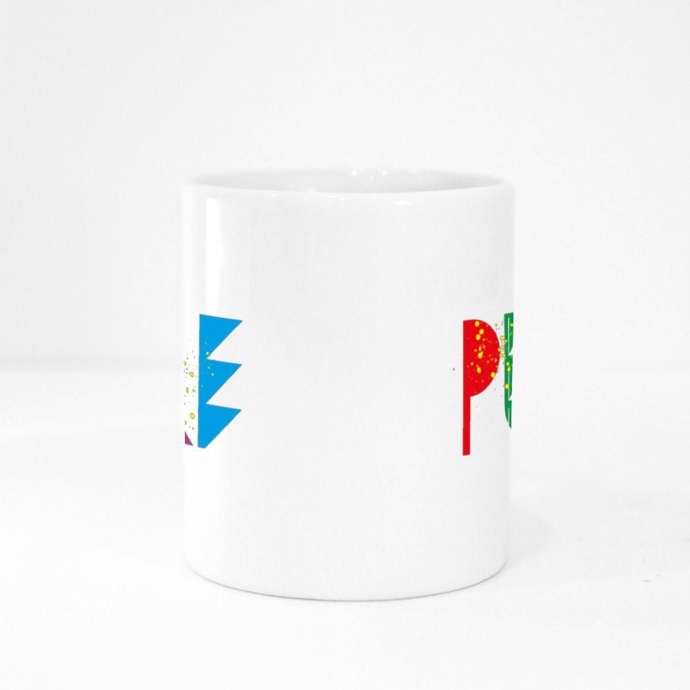 Pure Love Art Colour Mugs