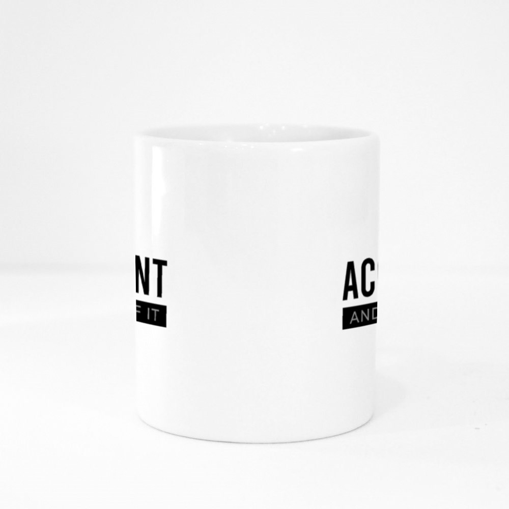 Am an Accountant and I'm Proud of It Colour Mugs