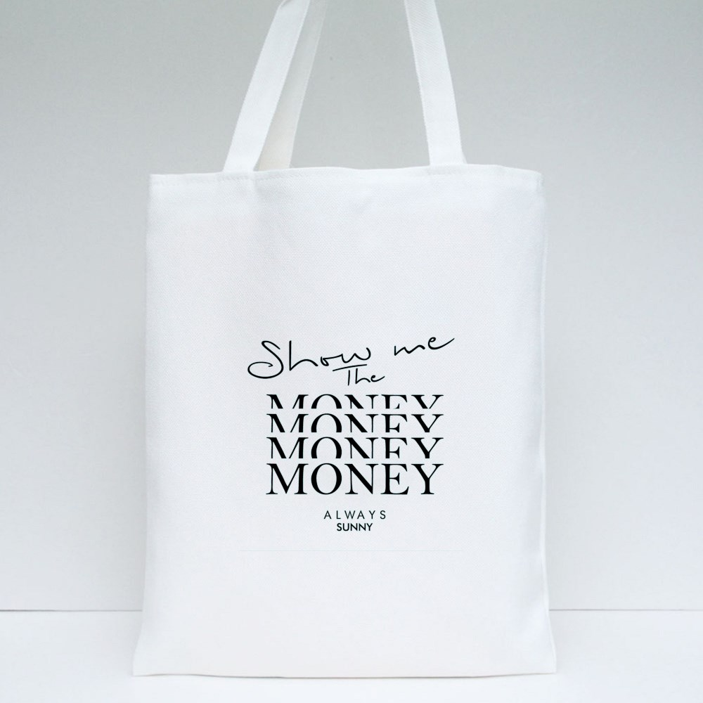 Show Me The Money Tote Bags