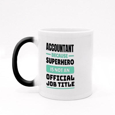 Because Superhero Is Not an Official Job Title Magic Mugs