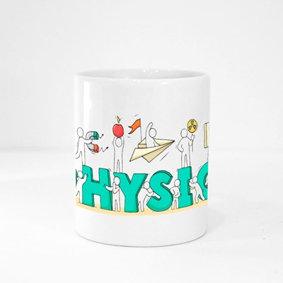 Sketch of Physics Lab With Working Little People Magic Mugs