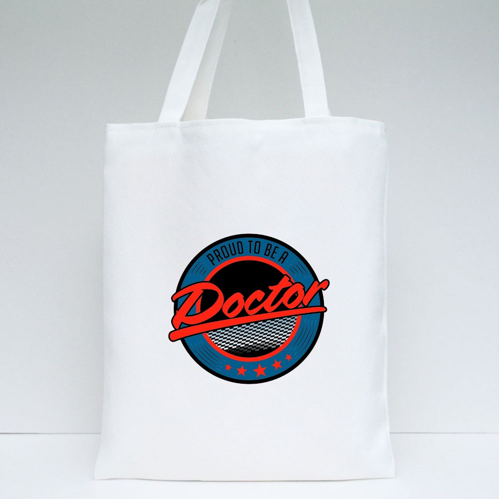 Proud to Be a Doctor Tote Bags